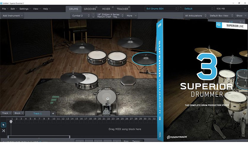 Superior Drummer Crack 3.1.7 MAC Free Download 2021