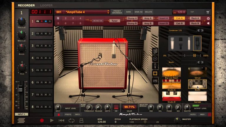 IK Multimedia AmpliTube 4 Complete 4.9.1 Crack Free Download