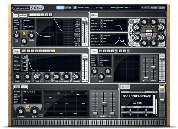 Z3TA+ 2 Crack Waveshaping Synthesis 2.2.3.5.1 Mac and PC