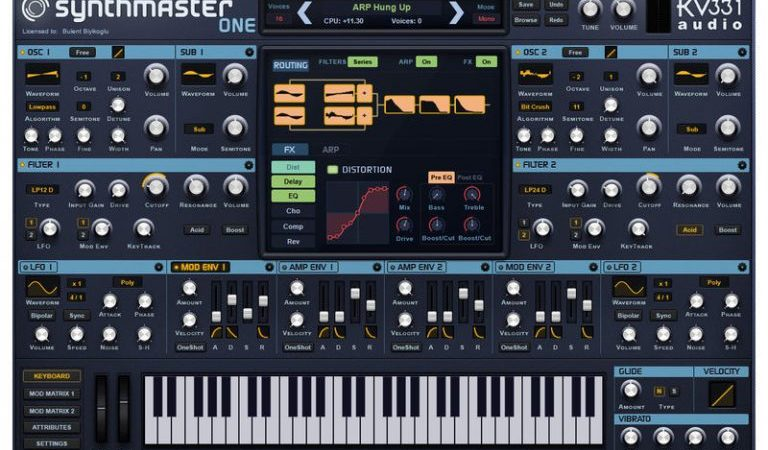 kv331 SynthMaster Mac Crack 2.9.8 Full Version Free Download