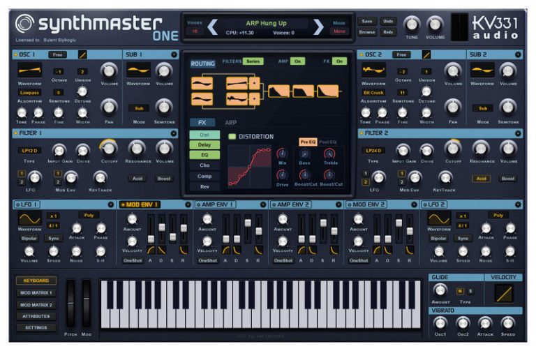 kv331 SynthMaster One (Win) With Crack Free Download