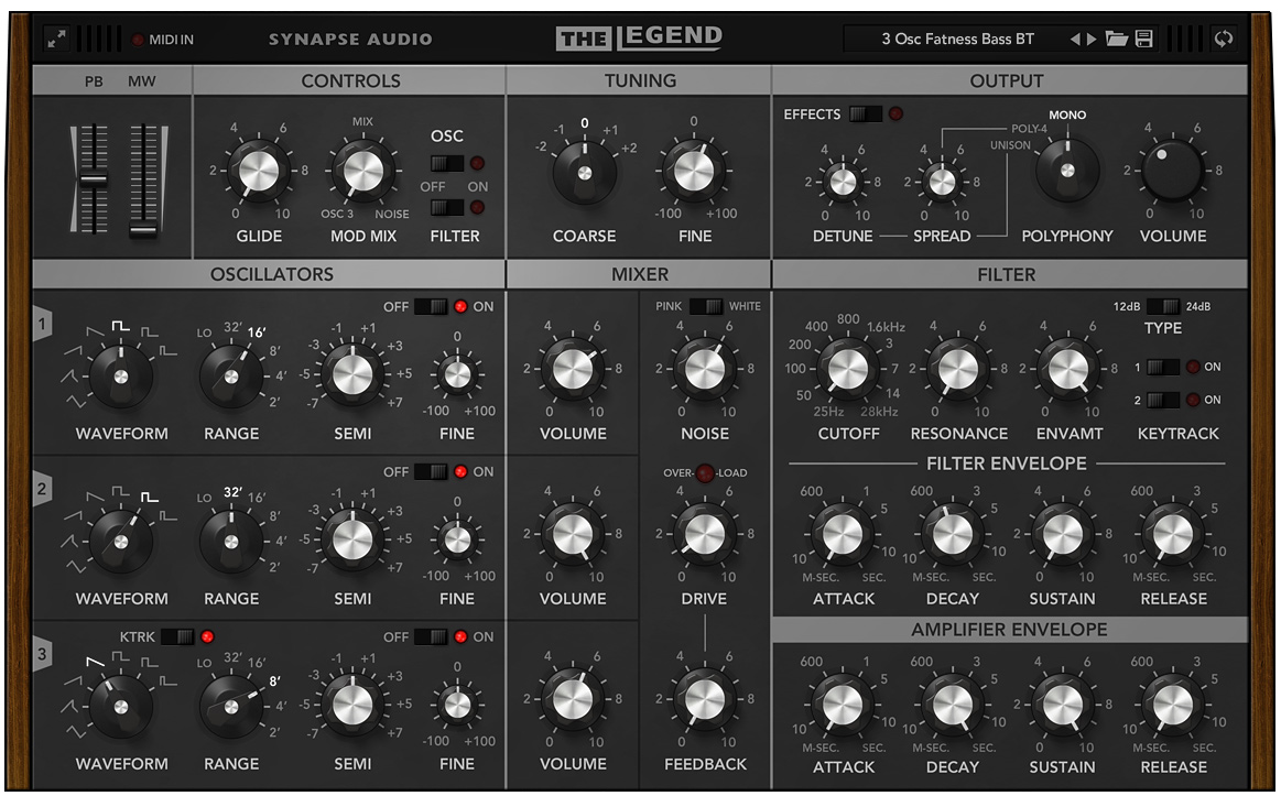 Synapse Audio The Legend For Mac Latest 2020 Download