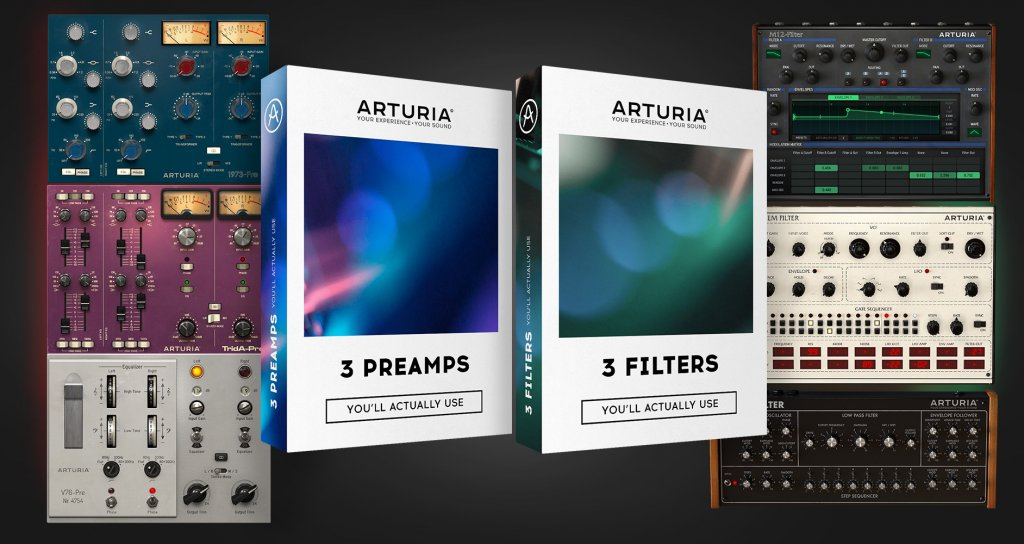 Arturia: 3 Filters & 3 Preamps For Mac 1.1.0 Lastest Version Free Download