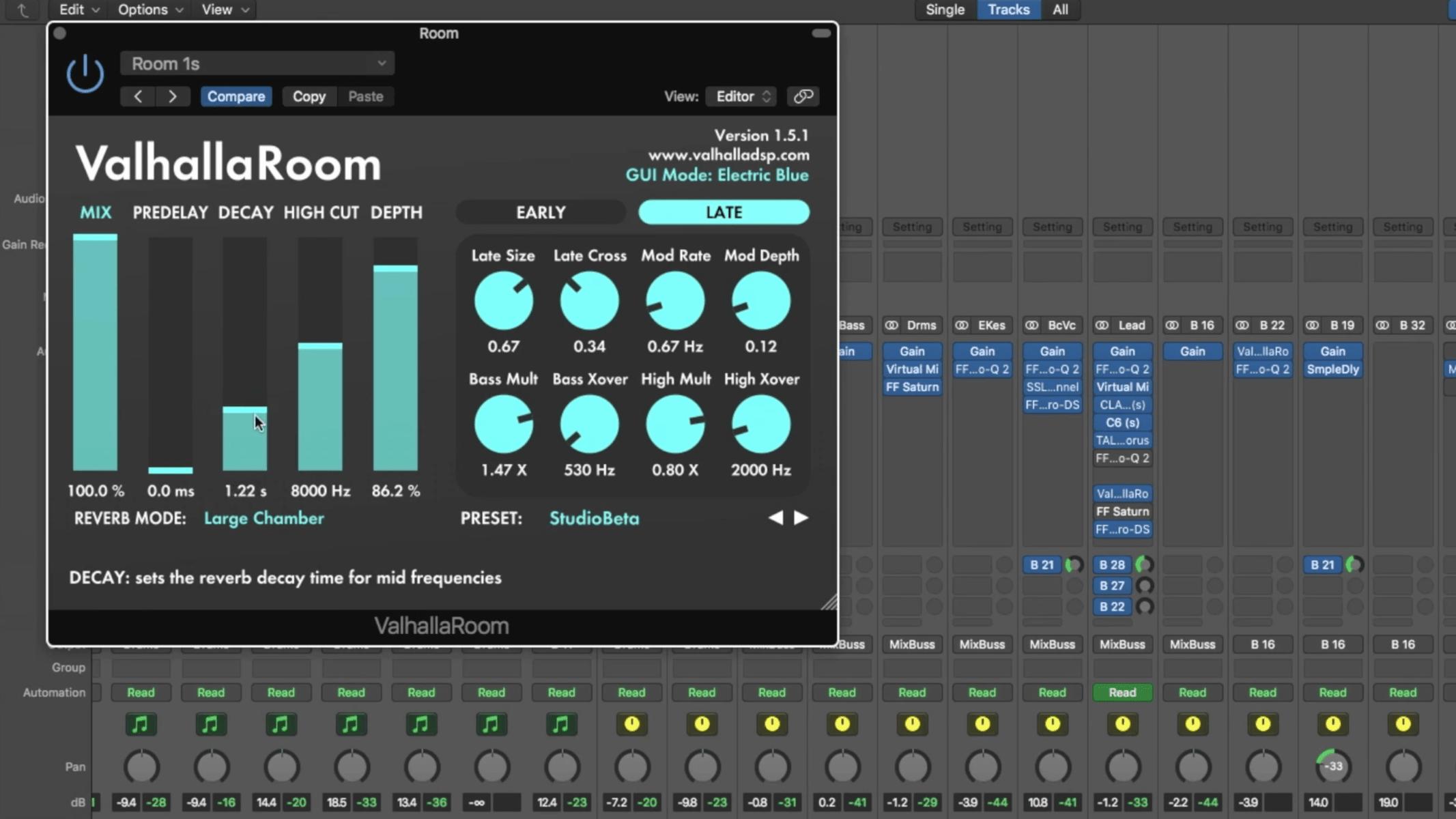 Valhalla Room For Mac Latest version v1.5.1 Free Download 2020