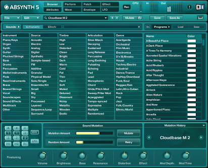 Absynth 5 For Mac v5.1.1 Latest Version Download
