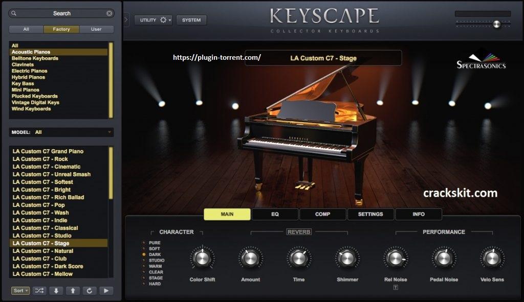 Spectrasonics Keyscape for Mac Latest Version Free Download