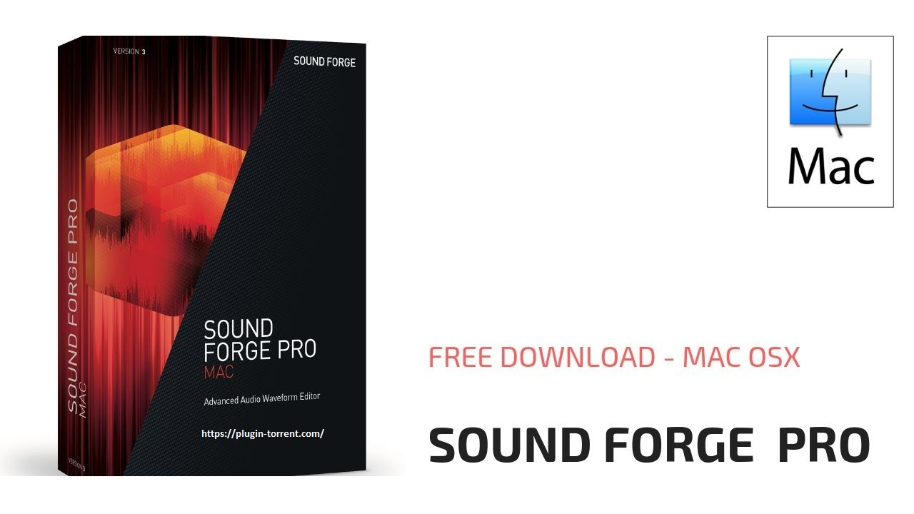 Sound Forge Pro For Mac Latest Version Free Download 2020