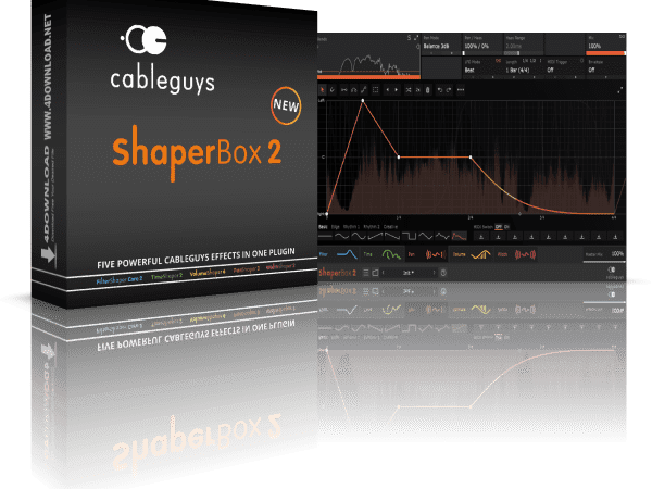 Shaperbox 2 Vst Crack (Mac) Plugin Free Download