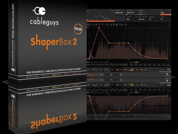 Shaperbox 2 Vst Crack (Mac) 2.3.0 Plugin Free Download