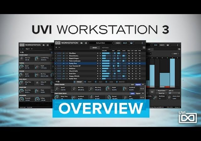 UVi Workstation Crack 3 Free Download – Plugin Torrent